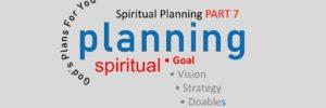 SPIRITUAL GOALS