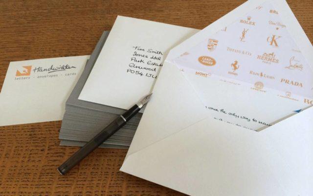 The Art of the Hand Written Letter